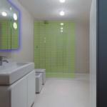 Modern Neon Wet Room Design