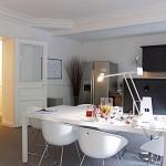 Modern White Dining Table Design