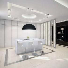 Modern White Kitchen Countertop Ideas