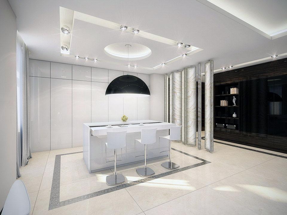 Modern White Kitchen Countertop Ideas Interior Design Ideas