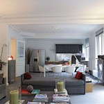 Paris Open Plan Apartment Design