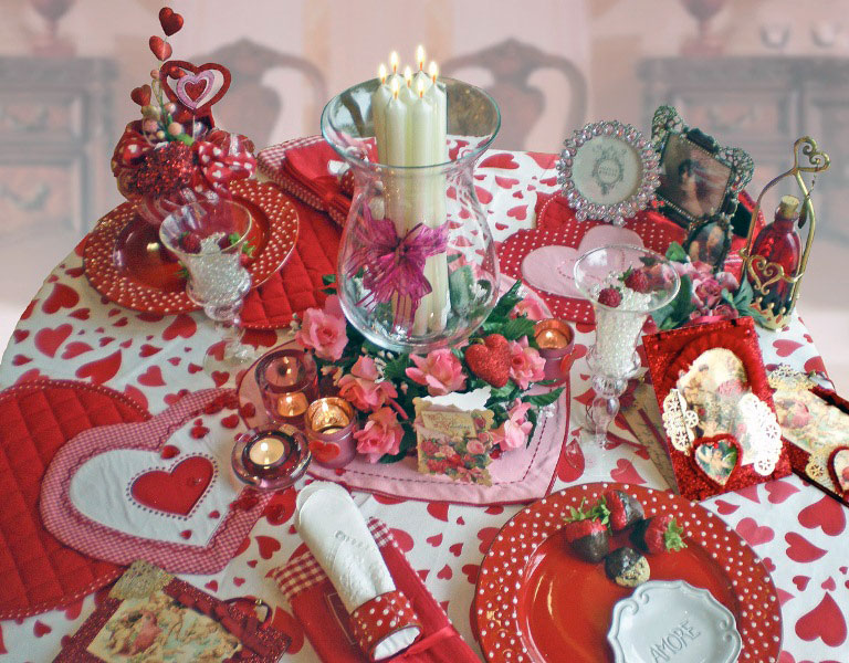 Beautiful Valentine 39 S Day Table Decoration Ideas Ideas