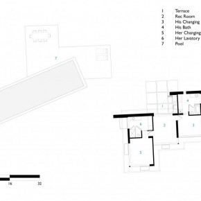 Sketch of Pool Cbana Carpinteria Foothills Residence