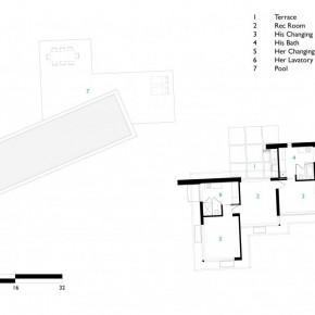 Sketch of Pool Cbana Carpinteria Foothills Residence