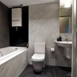 Slate Tile Wall Marble Bathroom Design