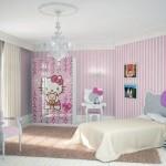 Soft Pink Hello Kitty Theme Room