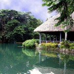 Villa Escudero in the Edge of Lake Labasin Philippines