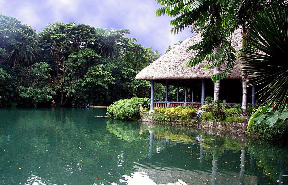 Villa Escudero in the Edge of Lake Labasin Philippines