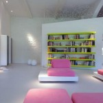 White Candy Color Interiors Design Element