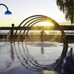 Amazing Sunset View Water Playground