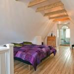 Attic Bedroom with Wooden Floor Ideas