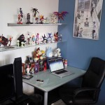 Awesome iMac Desk with Action Figure