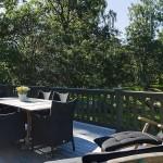 Beautiful Lounge Terrace with Garden View