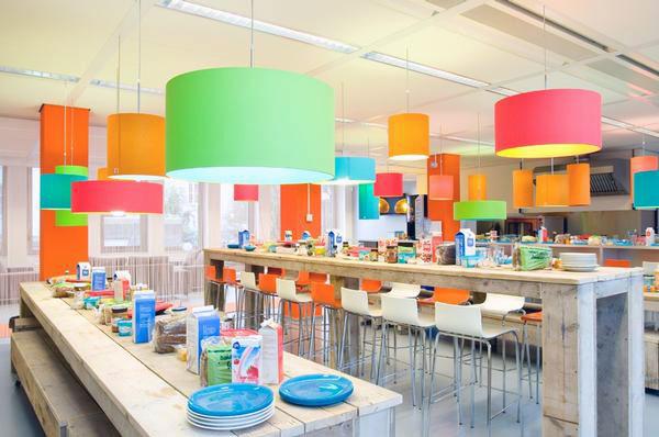 Beautiful Colorful Workspace Ideas