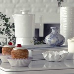 Beautiful White Dining Table Decor