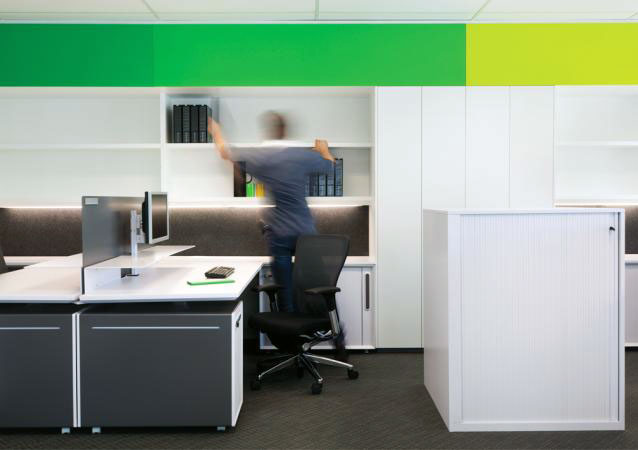 Clean and Sleek Office Furniture Design