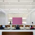Comfort White Office Design Ideas