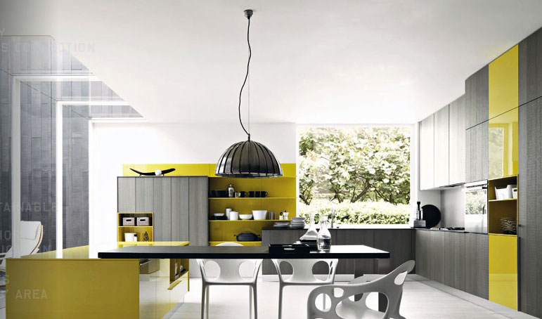 Cool Grey Mustard Yellow Kitchen Ideas Interior Design Ideas