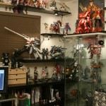 Cool Gundam Collector Cabinet Ideas