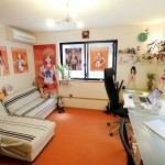 Cream Girl Room with Sailor Moon Posters