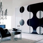 Creative Black and White Wardrobes Ideas