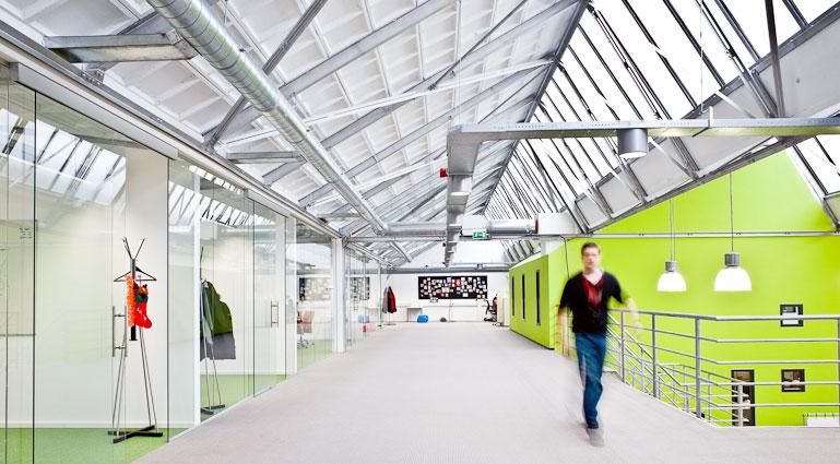 Creative High Energy Workspace Design