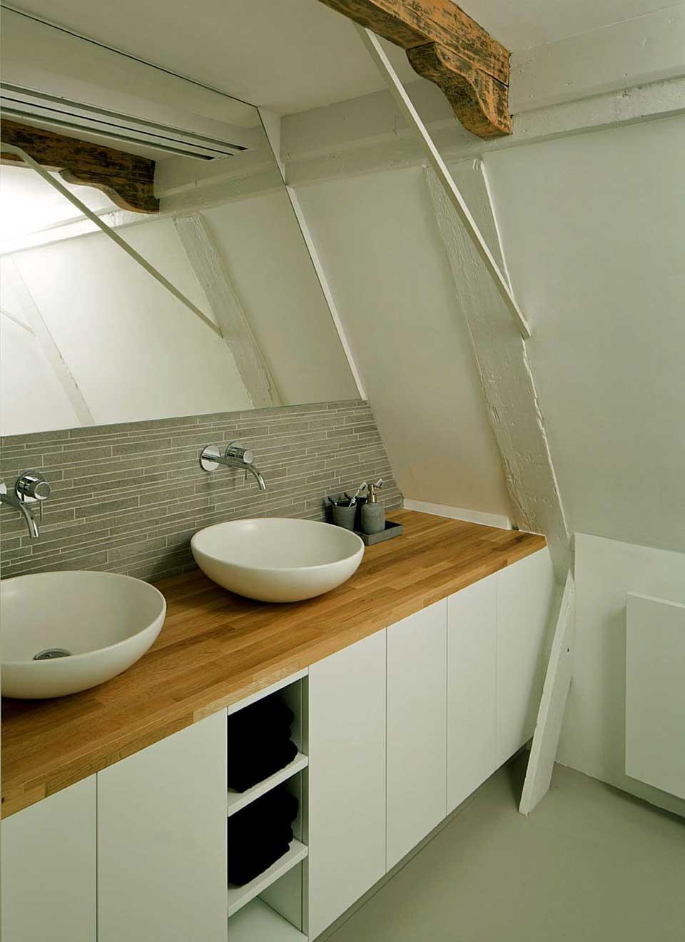 Creative Modern Wooden Sink Table Ideas