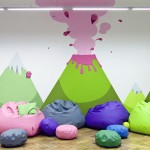 Funny Colorful Rest Area Office Design