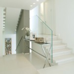 Glass Frame Staircase Design