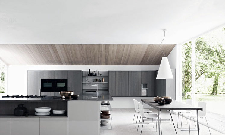 Gloss dining kitchen design inspirations interior design for Kitchen design companies