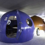 Informal Meeting Room with Igloo Design
