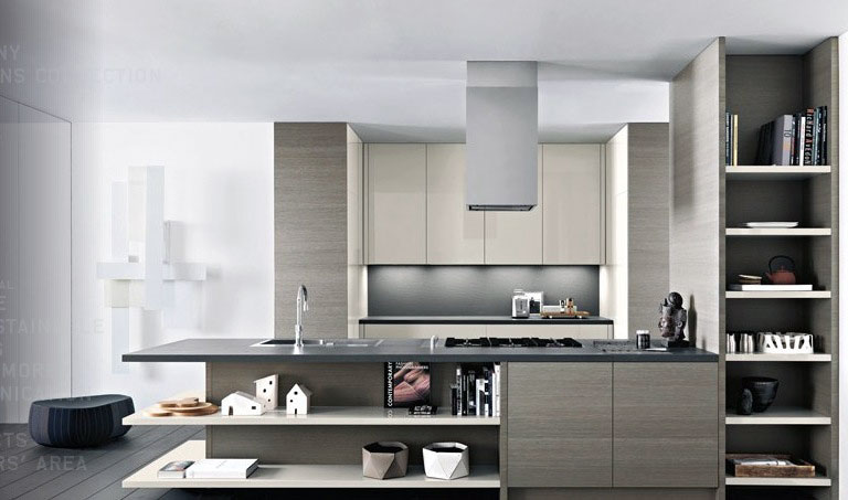 Light grey awesome kitchen design interior design ideas Kitchen design light grey