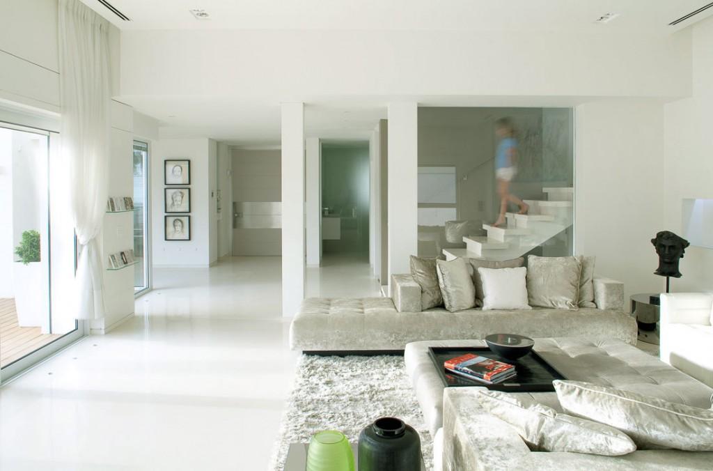 Low Stair Design Living Room Interior Ideas