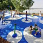 Modern Basin Water Playground