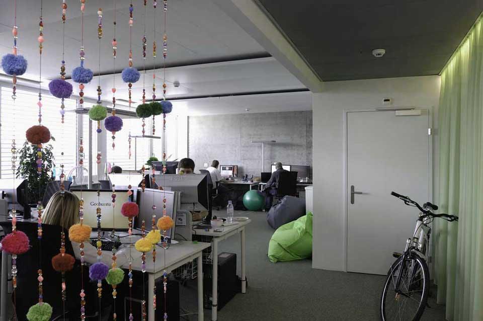 Modern Enjoyed Google Office Design