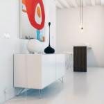 Modern Gloss White Sideboard Living Room Ideas
