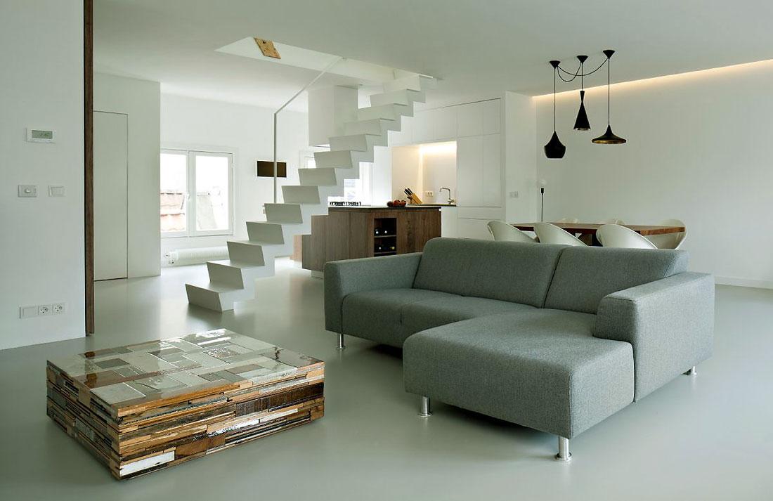 Modern Grey Sofa Apartment Ideas