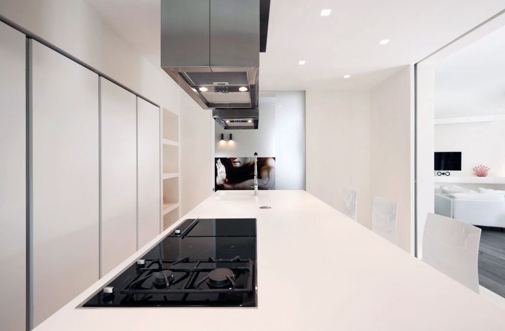 Modern Kitchen Furniture with White Color Ideas