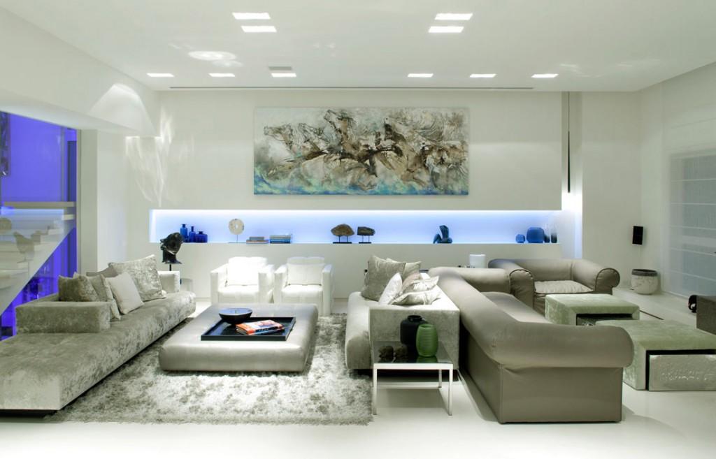 Modern Luxury Sofa Living Room Decor