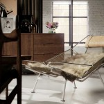 Modern Retro Fur Chair Living Room