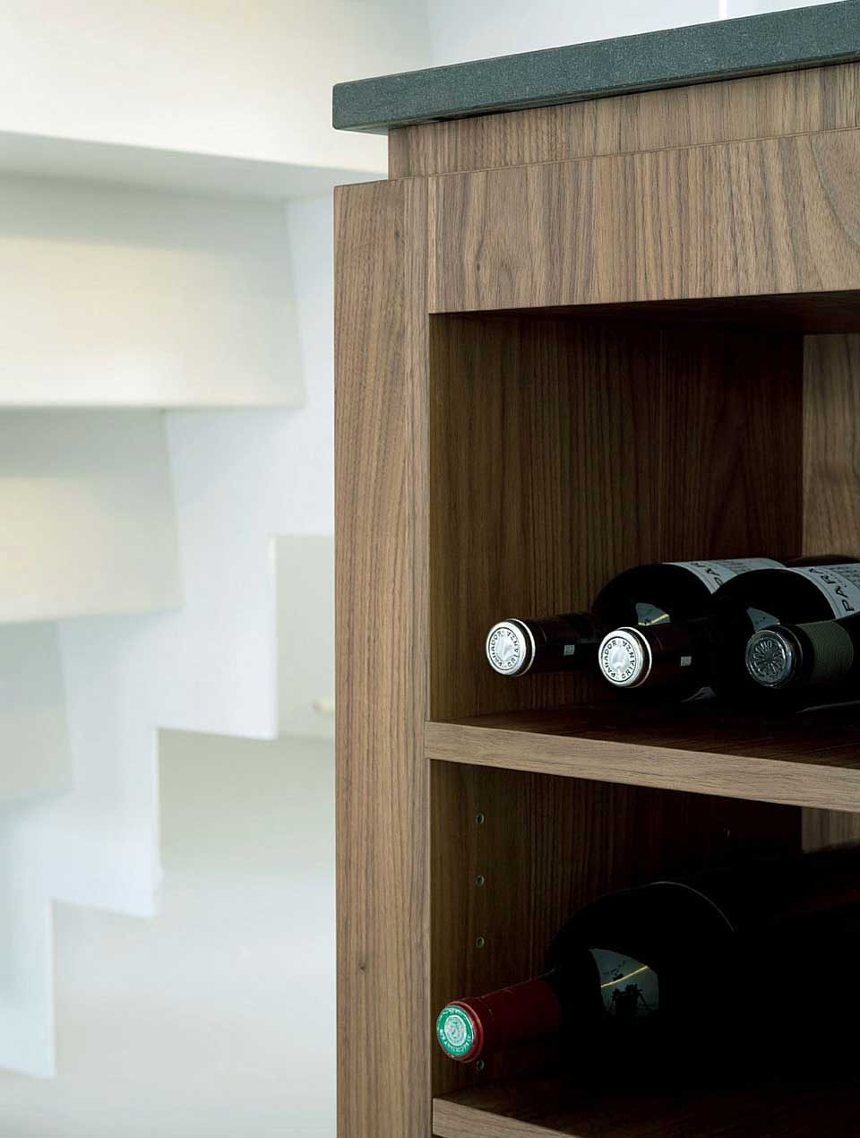 Modern Whiskey Shelf Apartment
