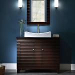 Modern Wooden Sink Cabinet Design