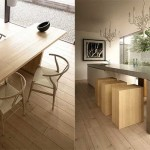 Neutral Beech Dining Rooms Design