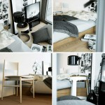Neutral Design Modern Bedroom Wooden Floor