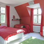 Red Kids Room Sweden House Ideas