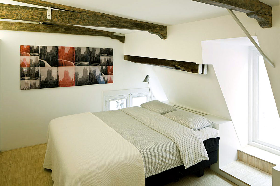 Small Attic Bedroom Apartment Ideas