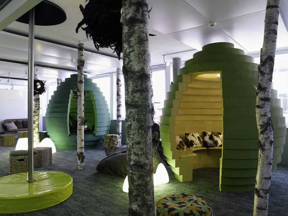 Unique Serenity Eggs in Google Zurich