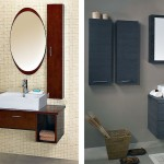 Wetroom with Sink with Mirror and Storage Ideas
