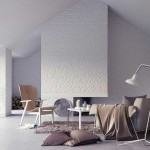 White Brick Wall Interior Living Area