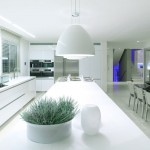 White Kitchen Countertops Design